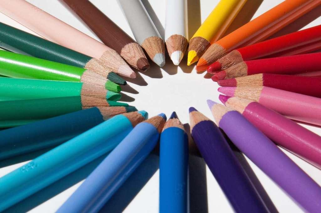 Les couleurs dans le marketing.