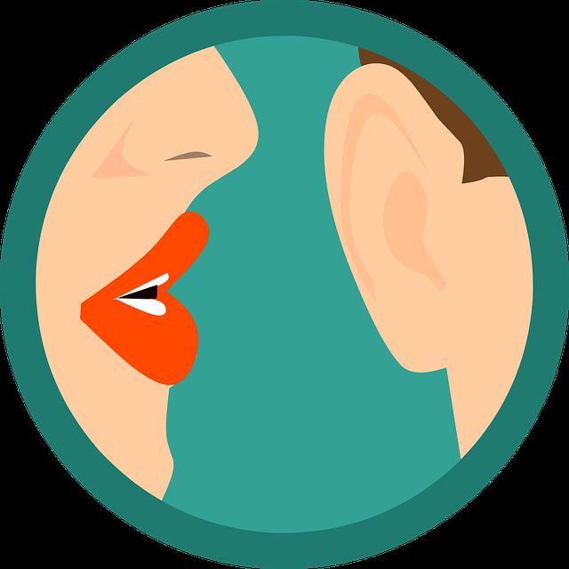 Le bouche à oreille.